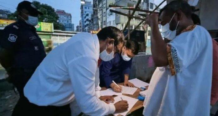আটক-জরিমানায় চলছে কঠোর লকডাউনের তৃতীয় দিন